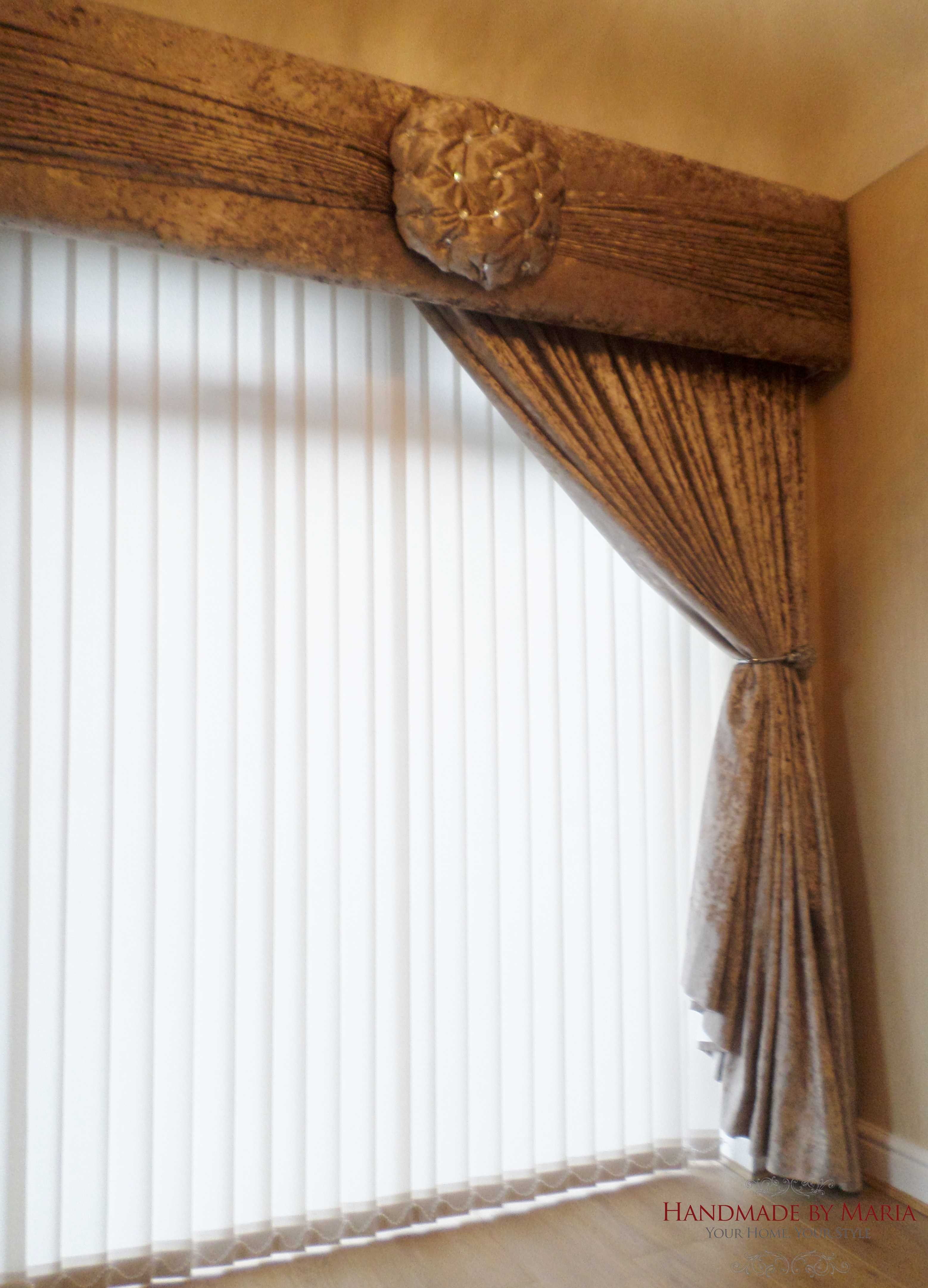 g mini rustic by valances creatively blog diy valance blinds living wood window