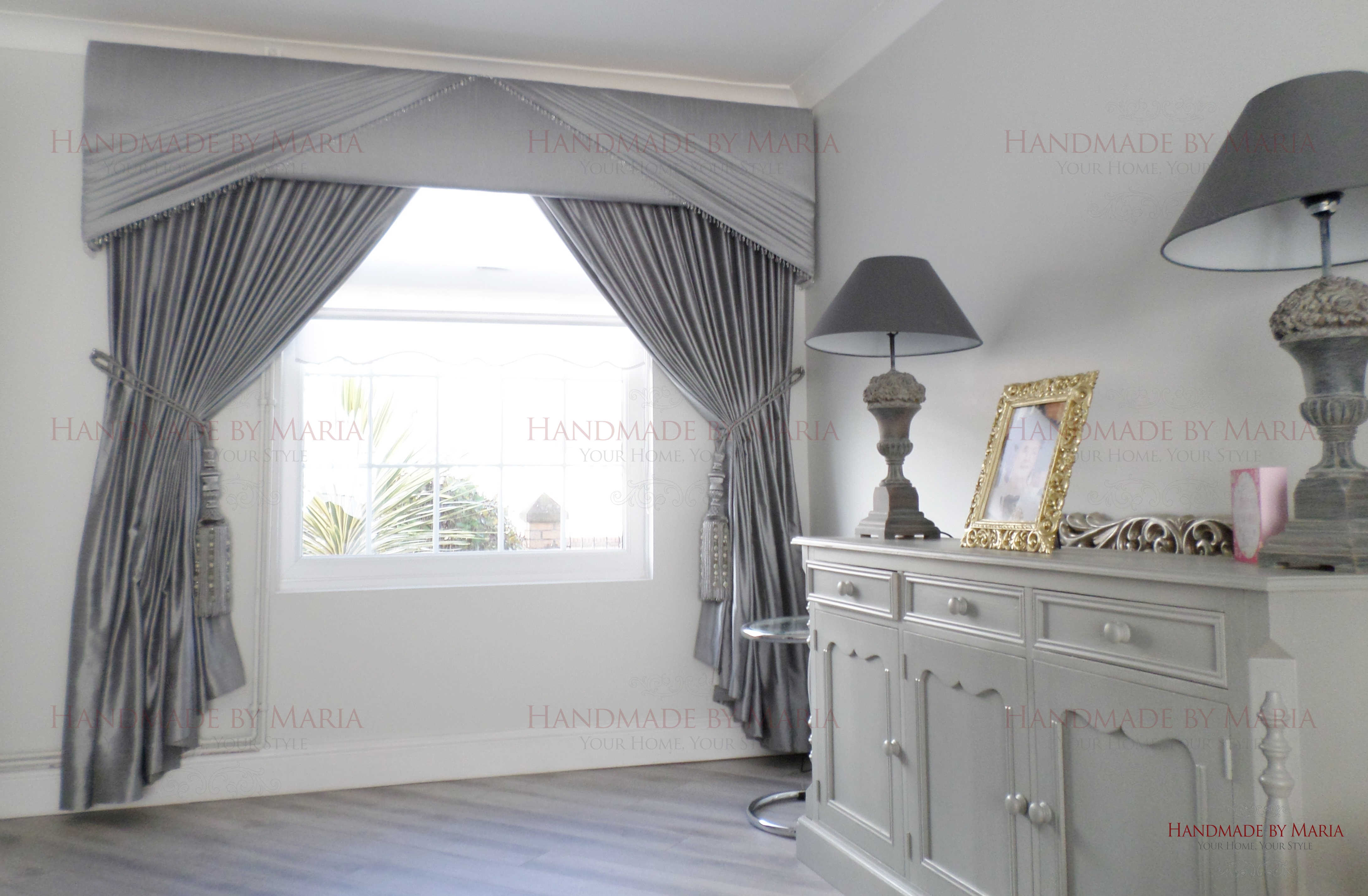 Pelmets Amp Curtains Made To Measure Handmade By Maia
