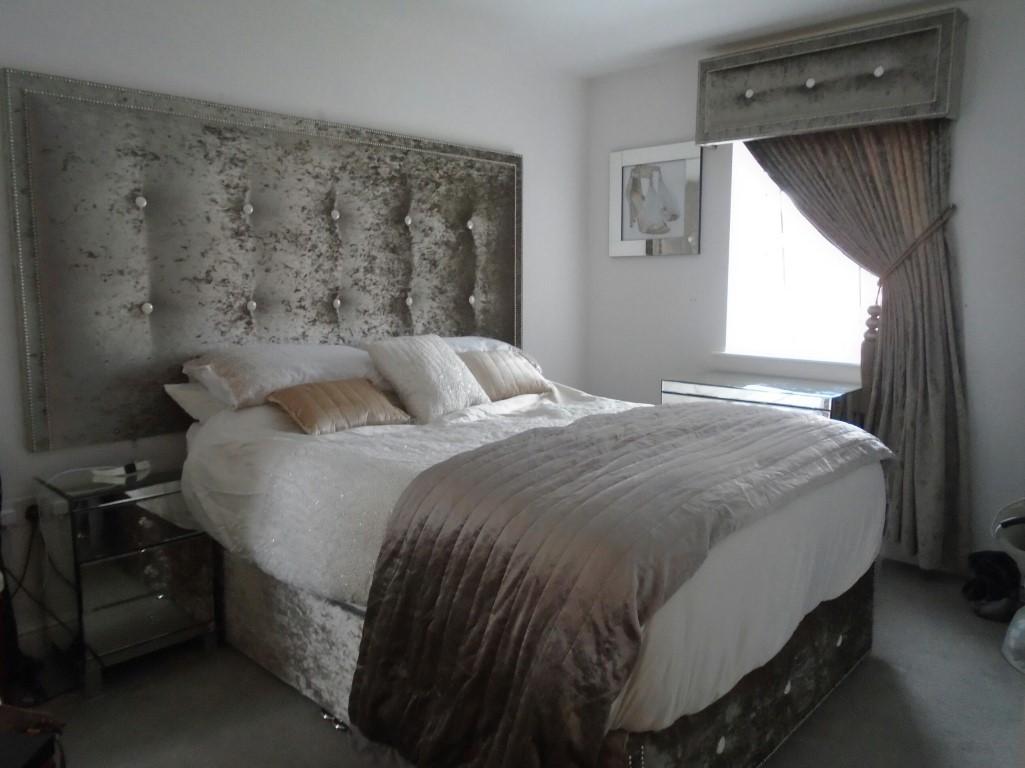 Plush Curtains and Pelmet set